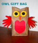 owl gift bag